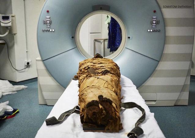 3000年前的埃及木乃伊在實驗室里開口說話
