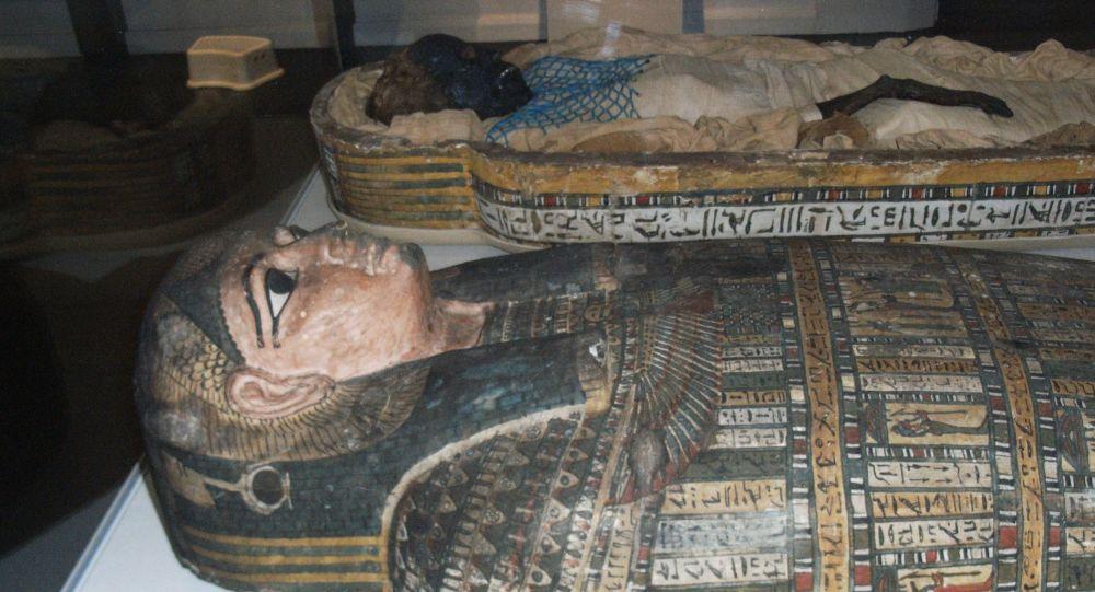 美國科學家在埃及木乃伊里發現不尋常的神器
