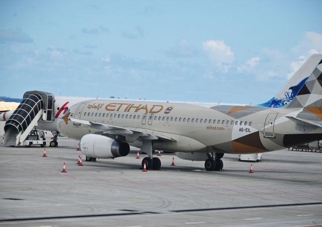 阿提哈德航空的Airbus A320客機