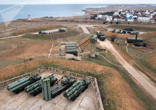 部署在克里米亞半島的S-400系統