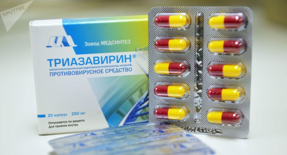 三氮唑核苷 (Triazavirin)