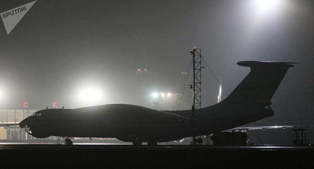 第二架運載醫療用品的飛機已從中國抵達烏克蘭