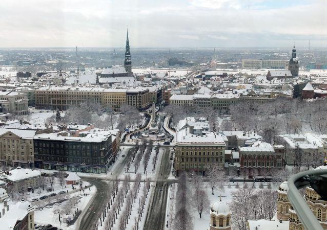 拉脫維亞首都里加