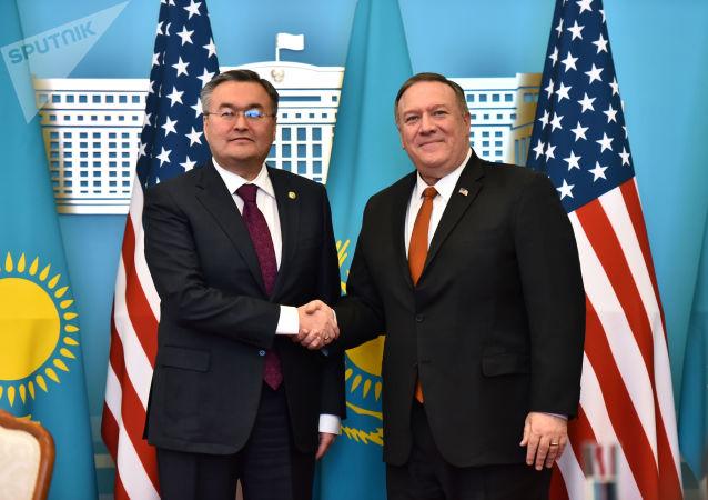 中國駐烏茲別克斯坦使館:蓬佩奧歐亞之行暴露其對華敵視