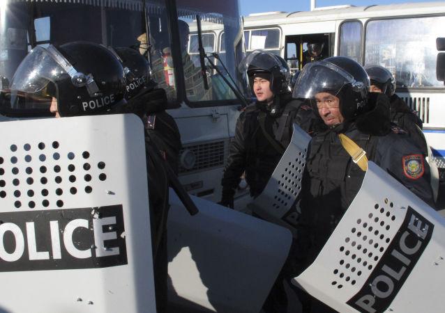 哈薩克斯坦警察