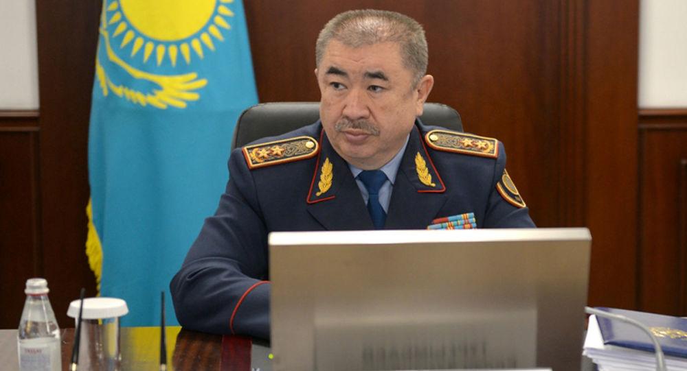 哈薩克斯坦內務部長圖爾古姆巴耶夫