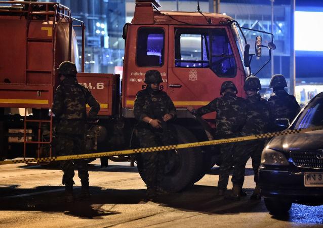 媒體:泰國呵叻府槍擊案槍手被擊斃