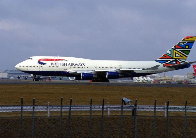 英國航空公司的波音747-436客機