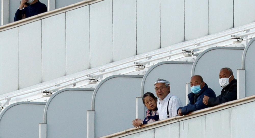 日本「鑽石公主」號游輪再添67例冠狀病毒感染病例