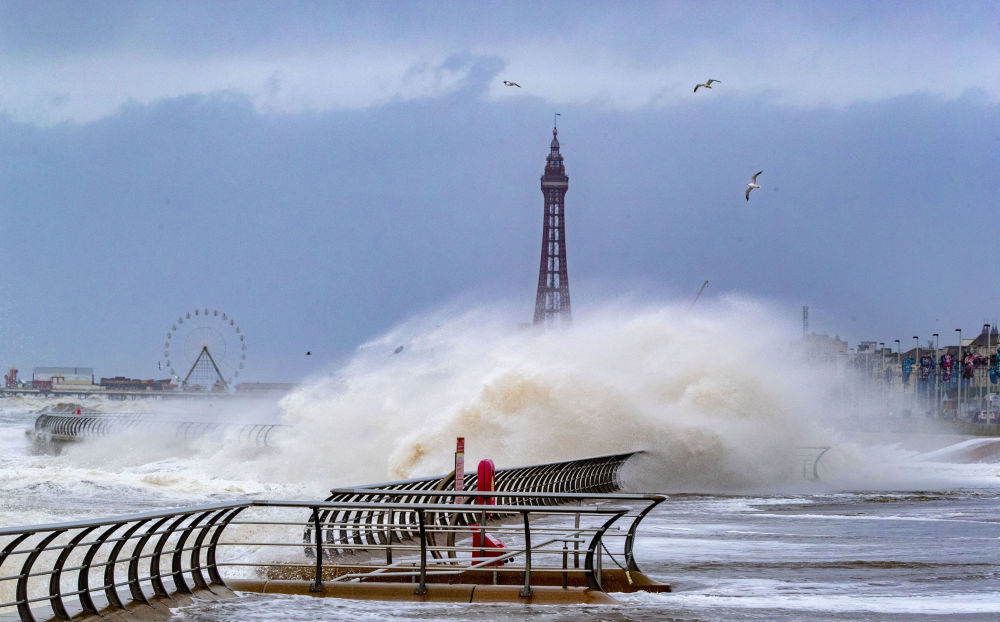 風暴「西婭拉」席捲歐洲