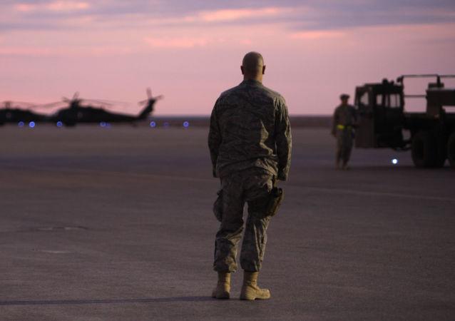 美國軍人在伊拉克