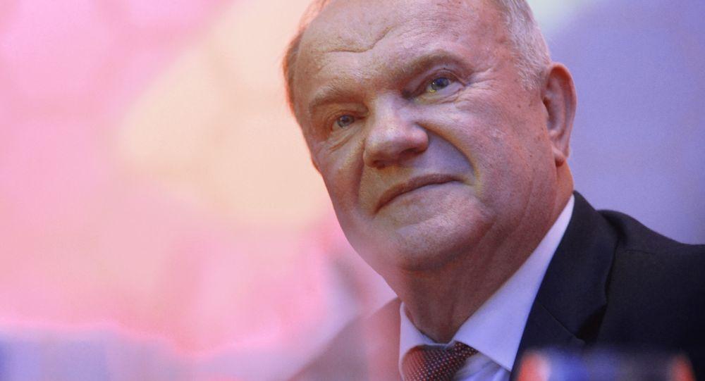 俄羅斯共產黨領導人根納季•久加諾夫