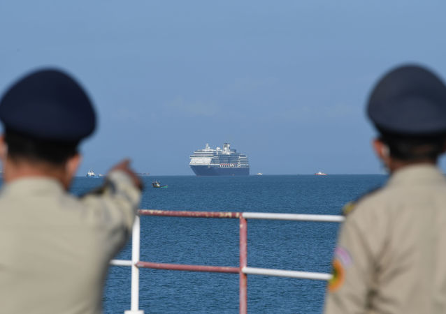 俄使館:「威士特丹」號郵輪上第一批俄公民將於週六離開柬埔寨