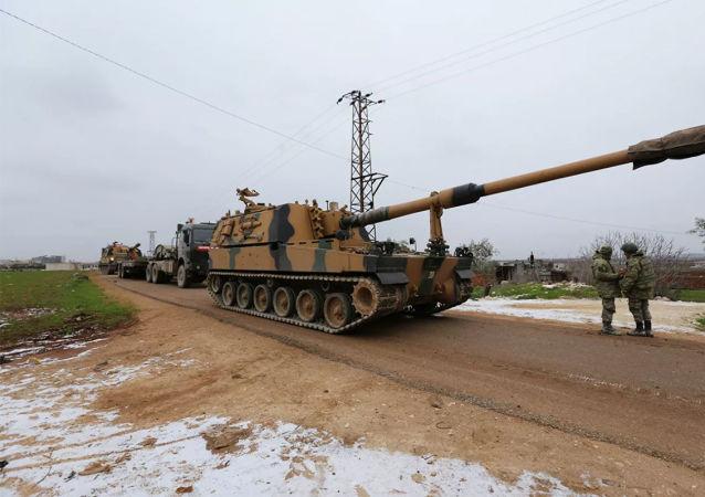 土耳其軍隊在伊德利卜
