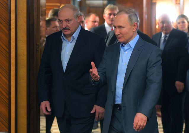 白俄總統:沒想從俄那裡索取更多 而僅希望在聯盟中獲得平等條件