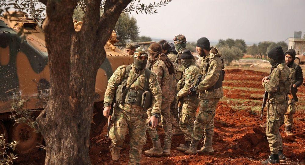 敘利亞軍隊控制著距敘土邊境檢查站7公里的陣地