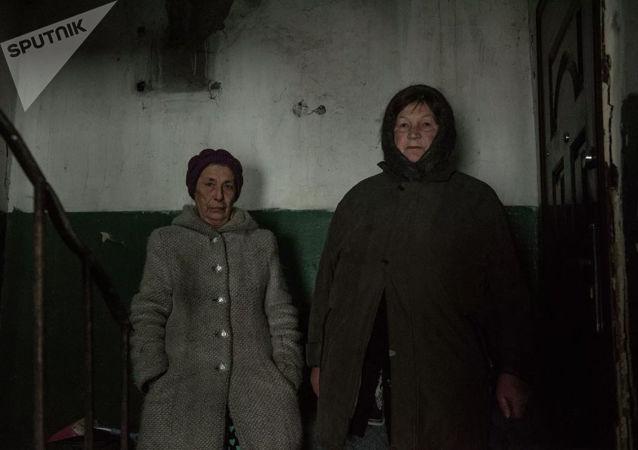 頓巴斯,盧甘斯克 ,農村居民