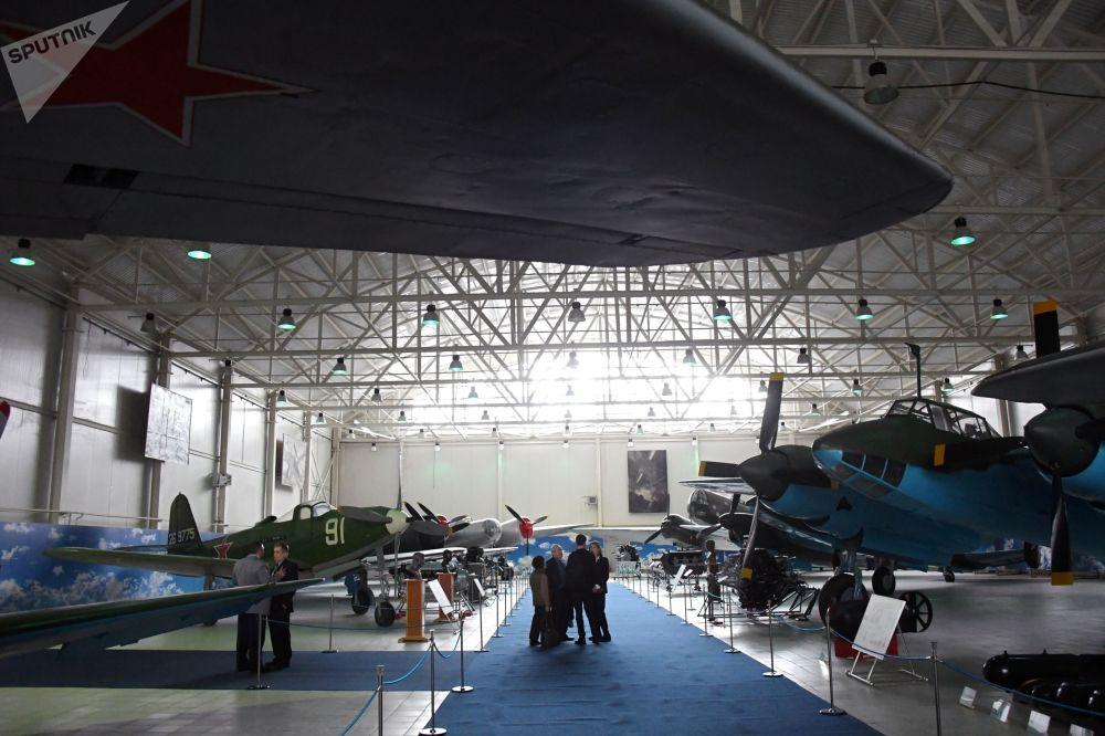 「偉大衛國戰爭戰機」陳列展開幕