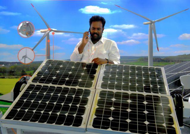 中國向印度大量出口太陽能電池板 使印度獲得廉價太陽能