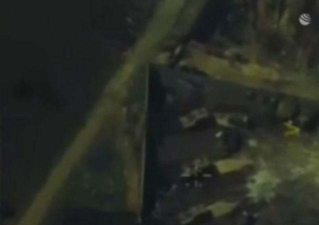 出現土耳其軍隊火力支持敘利亞武裝分子的視頻
