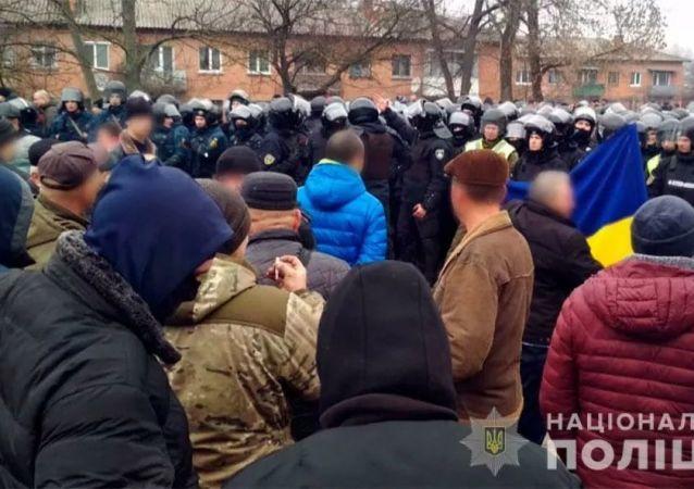 烏克蘭國家警察局長稱本國大規模抗議活動顯著增長