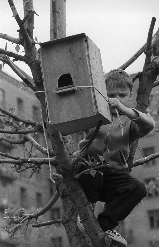 蘇聯時期人們如何迎接春天的到來