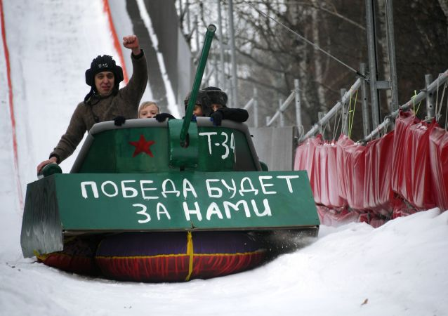 俄羅斯男人在祖國保衛者日收到的最不尋常的禮物是甚麼