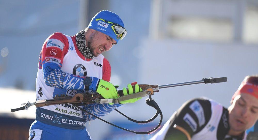 俄羅斯冬季兩項運動員亞歷山大·羅金諾夫
