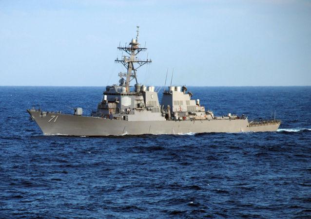 美國就「羅斯」號導彈驅逐艦駛入黑海做出解釋