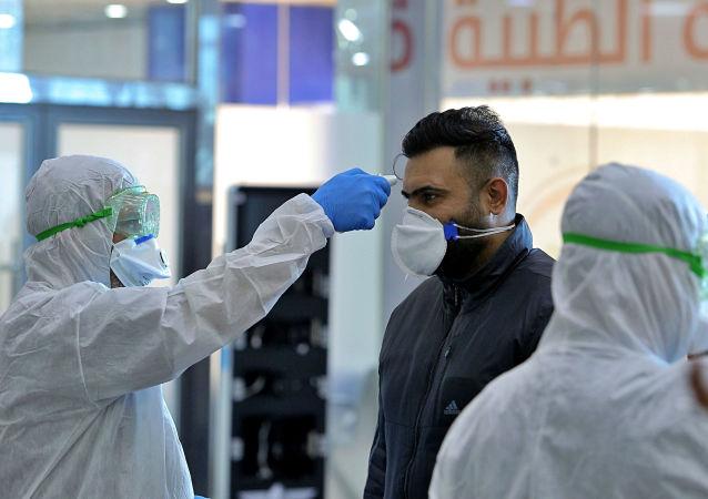 伊拉克新冠肺炎確診病例單日新增再創記錄