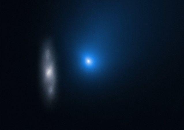星際物體2I/Borisov與遙遠的星系