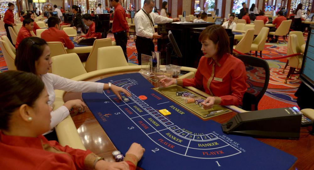 中國打擊菲律賓賭博業