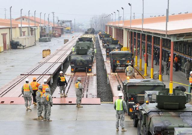 美國軍人在韓國