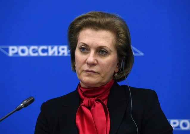 俄聯邦消費者權益保護和公益監督局局長、總防疫醫師安娜∙波波娃