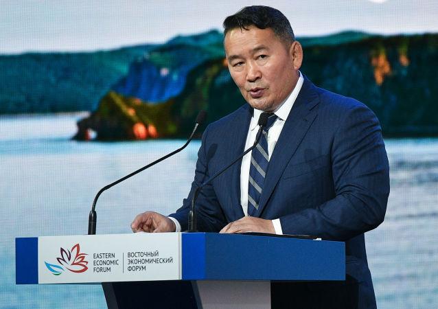蒙古國總統訪華回國後隔離14天