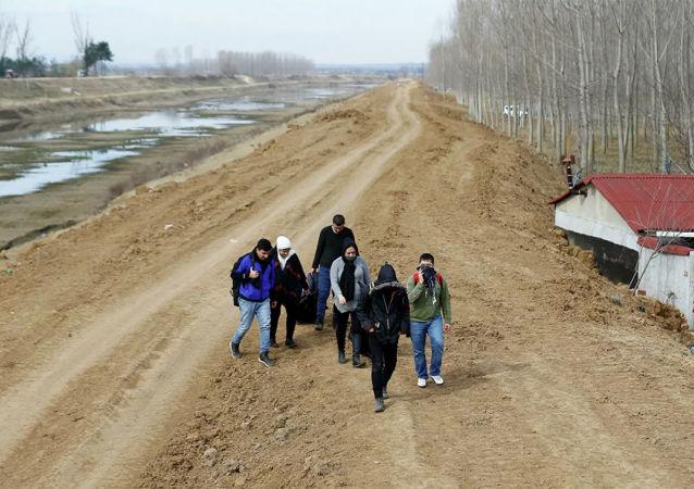 土耳其總統:土耳其已對敘難民開放與歐盟的邊界