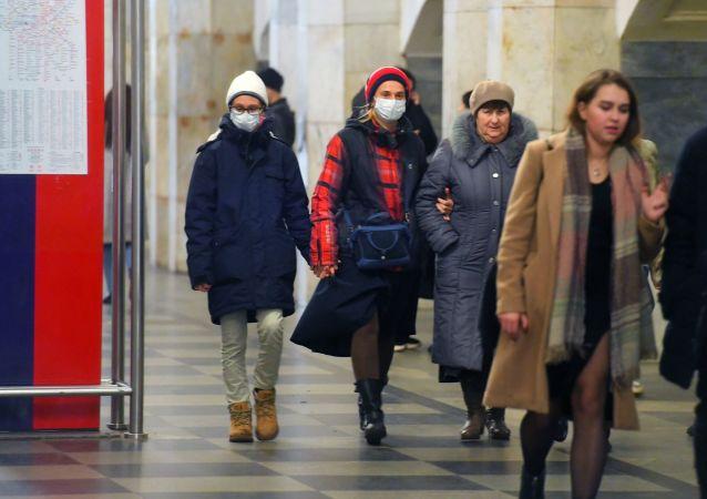 莫斯科地鐵乘客