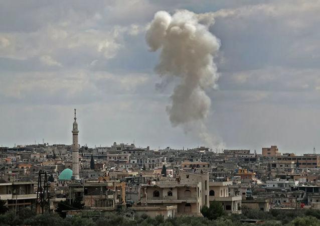 土耳其軍隊在敘利亞(伊德利卜)