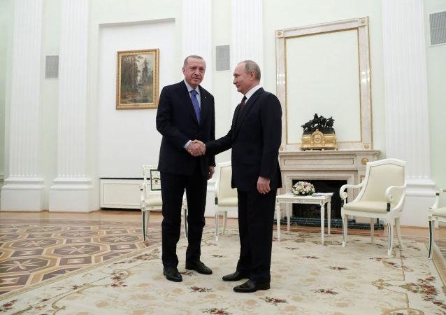 美國媒體談普京在敘利亞戰勝埃爾多安