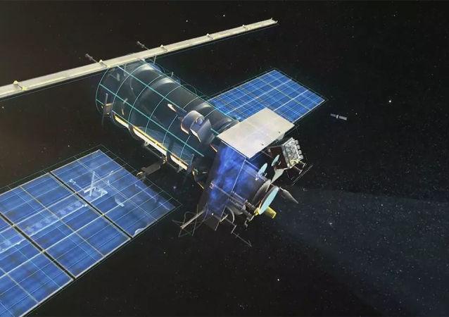 媒體:美太空部隊裝備干擾中俄衛星的「干擾器」