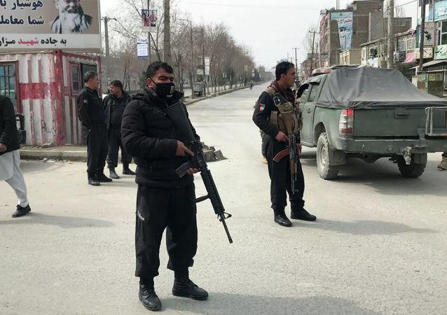 阿富汗安全部隊