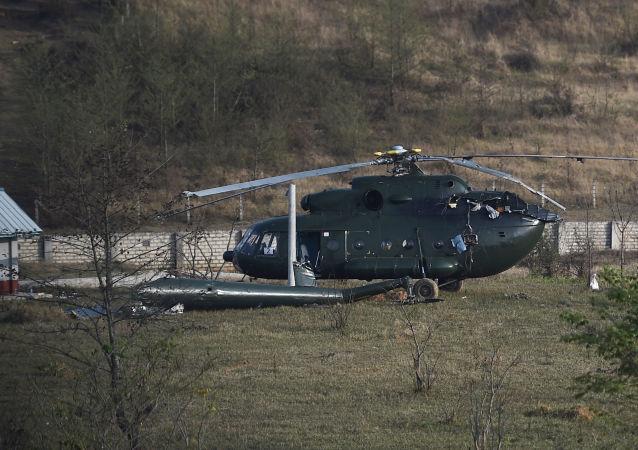 一架軍用直升機在緬甸墜毀 無人死亡