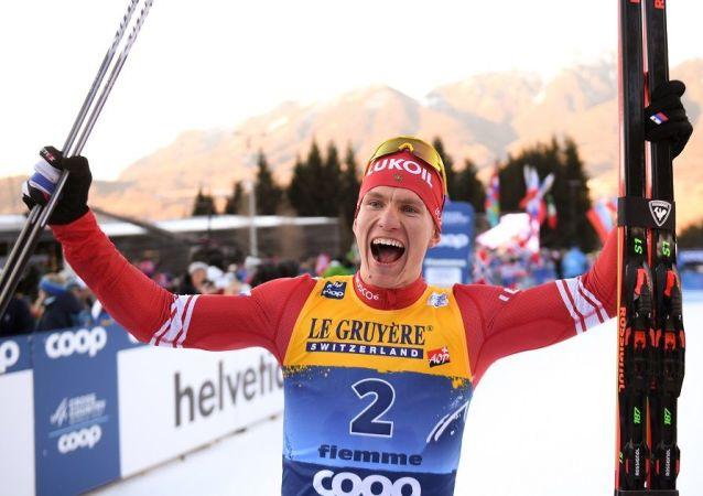 俄滑雪運動員博爾舒諾夫