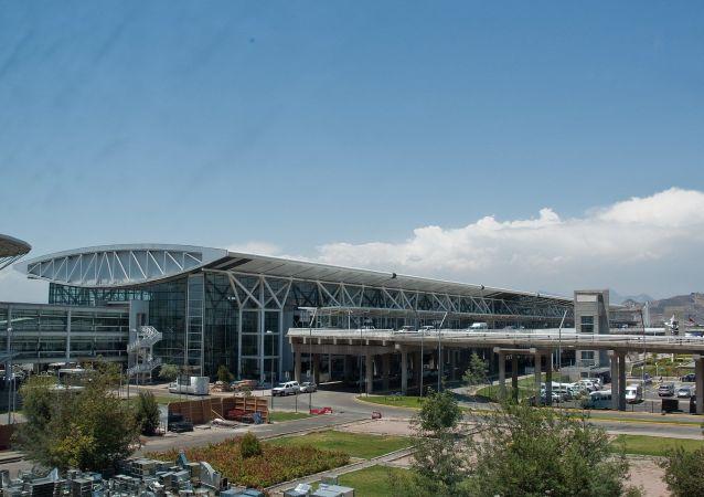 智利首都聖地亞哥機場