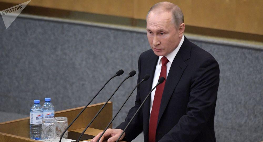 普京稱從憲法中去除總統權力期限限制並不合理