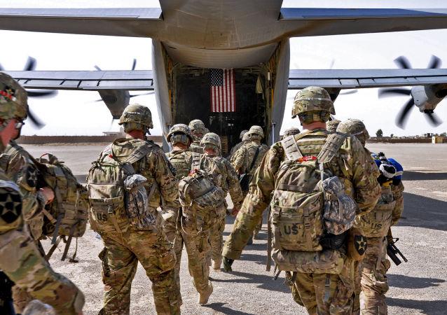 美國駐阿富汗軍隊