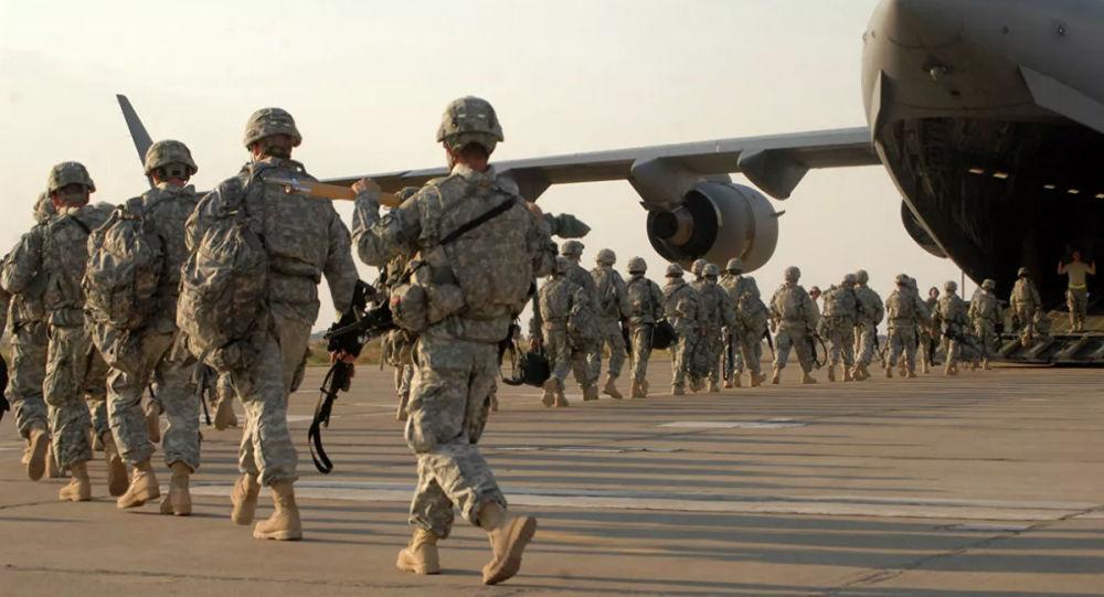 媒體:美國在敘利亞遭打擊背景下提高駐伊拉克美軍危險級別