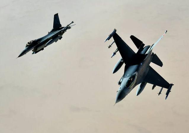 美軍將為F-16戰機配備新的電子戰系統