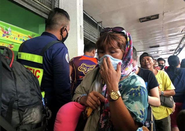 菲律賓新冠病毒感染新增病例過去一天創新的記錄達到5092例