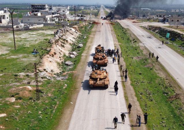 土耳其坦克在敘利亞